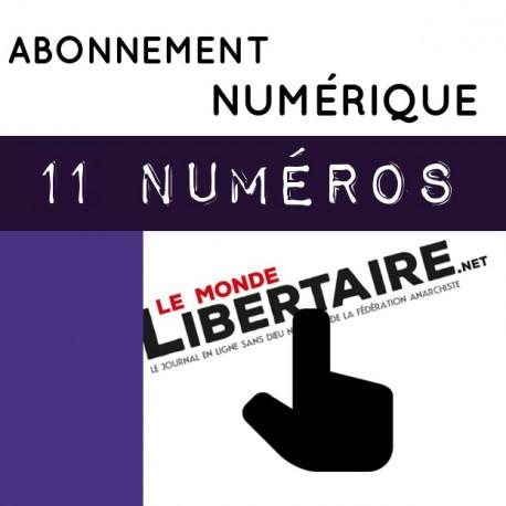 11 numéros - NUMÉRIQUE - Abonnement standard