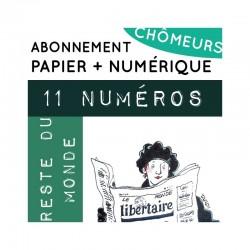11 numéros PAPIER +...